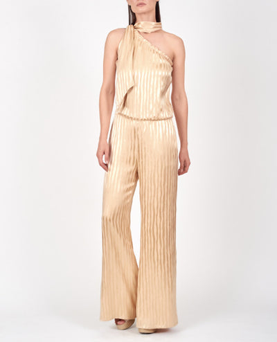 Mirembe Jumpsuit Golden Stripes
