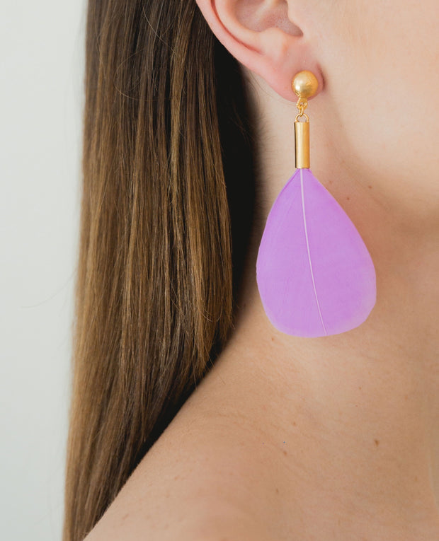 Puloy Earrings Lilac
