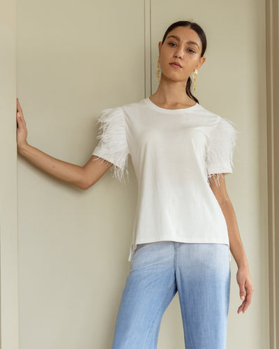Amatista T Shirt White - Boho Hunter