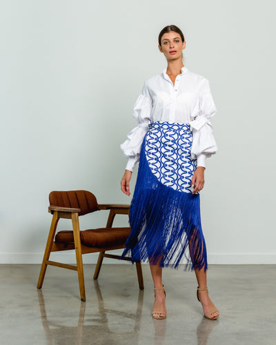 Costamar Skirt Eslabones Blue - Boho Hunter