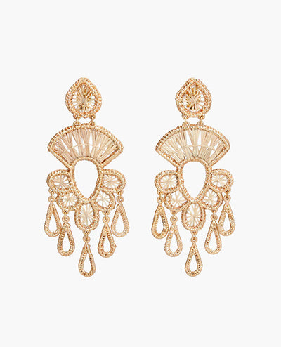 Candiles Iraca Gold Earrings - Boho Hunter