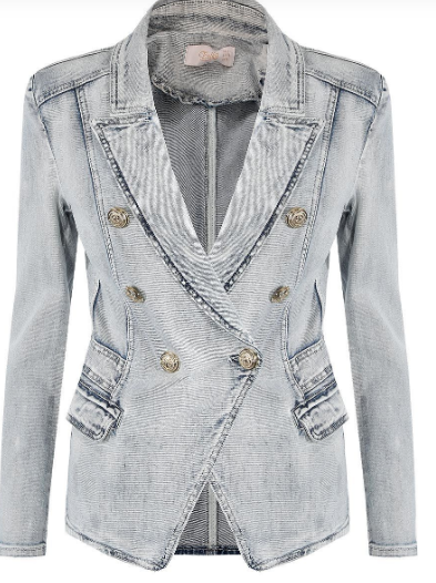 MeMe Denim Blazer