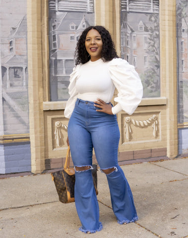 Laila Bell bottoms jeans