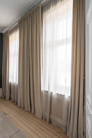 Double layer curtain