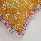 Capel Liberty print frill cushion