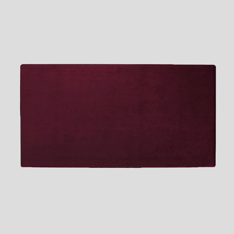 Bella ruby red velvet headboard