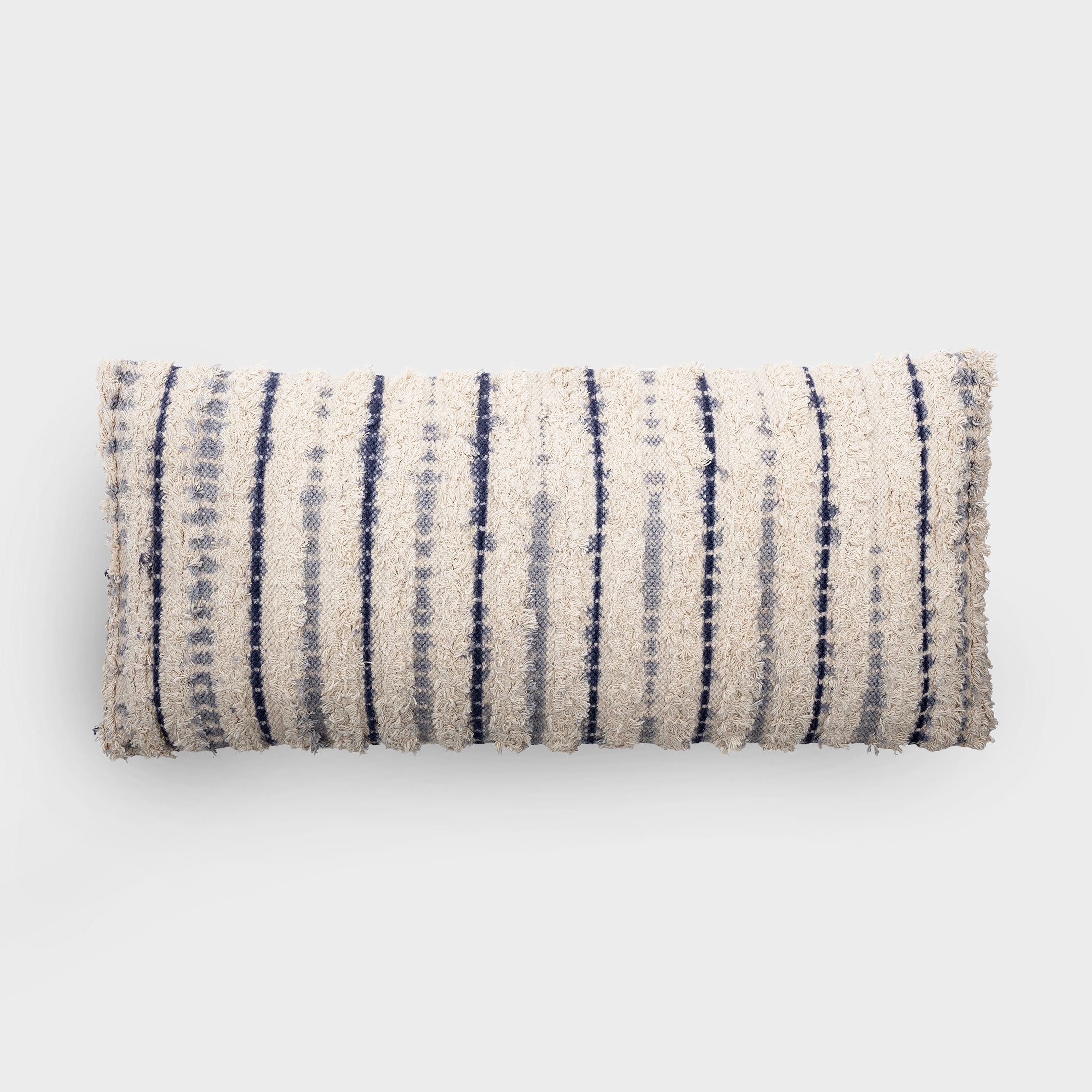 Large rectangle woven cotton cushion