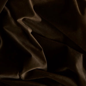 Curtain velvet fabric sample – Coffee Brown