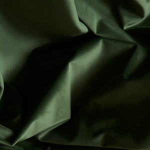 Curtain velvet fabric sample – Forest green