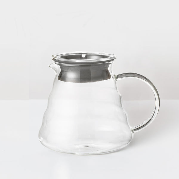 Glass drip pot coffee maker