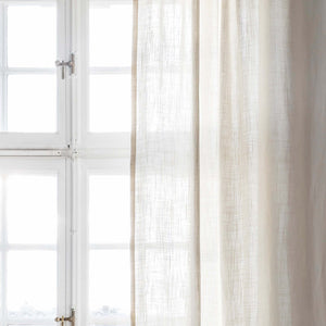 Gotain off-white linen curtain