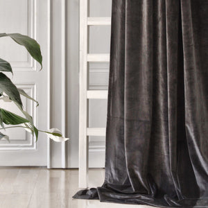 Gotain dark grey velvet curtain
