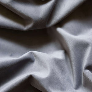 Curtain velvet fabric sample – Grey