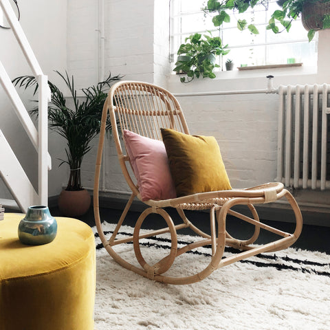 Ex-display Nanny Rocking Chair Designed by Nanny Ditzel