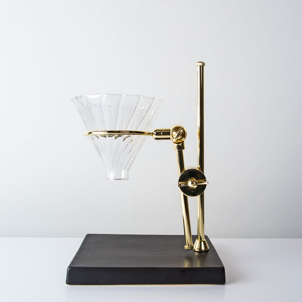 Gold tone Coffee maker