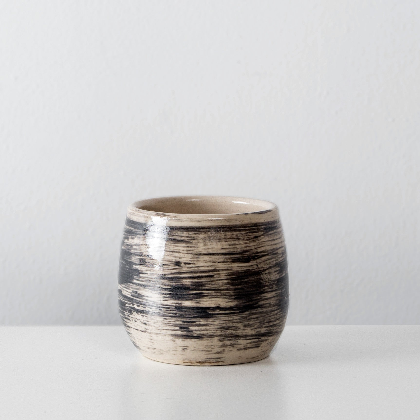 Handmade Charcoal ceramic espresso cup By SkandiHus (last 1)