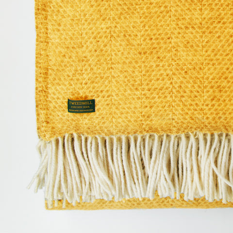 Beehive Wool Throw