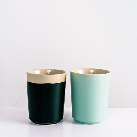 Danish design coffee cups