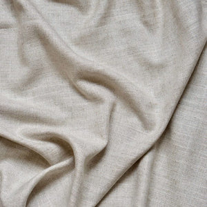 Curtain linen fabric sample – Sand