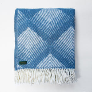 Prism petrol New Wool Throw (last 1)