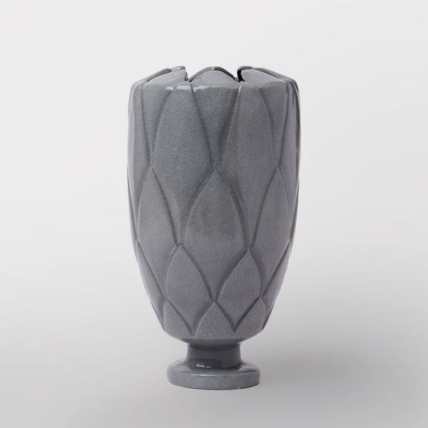 Handmade Protea vase in gloss black by Caro Gates