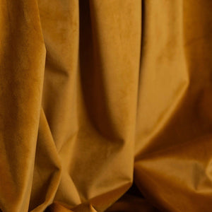 Curtain velvet fabric sample – Rust