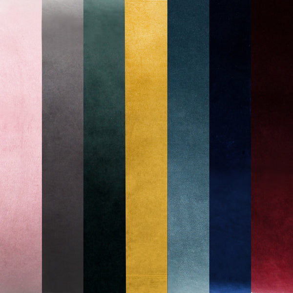 Free velvet fabric swatches