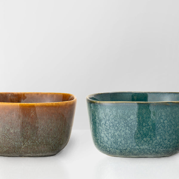 Handmade earth glazed bowl (low stock)