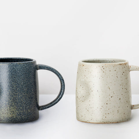 Handmade speckle glazed mug (1 left)