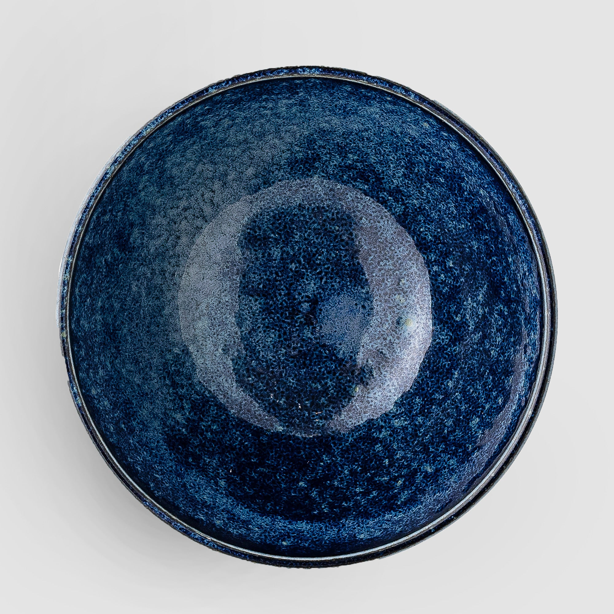 Camellia handcrafted glazed porcelain bowl