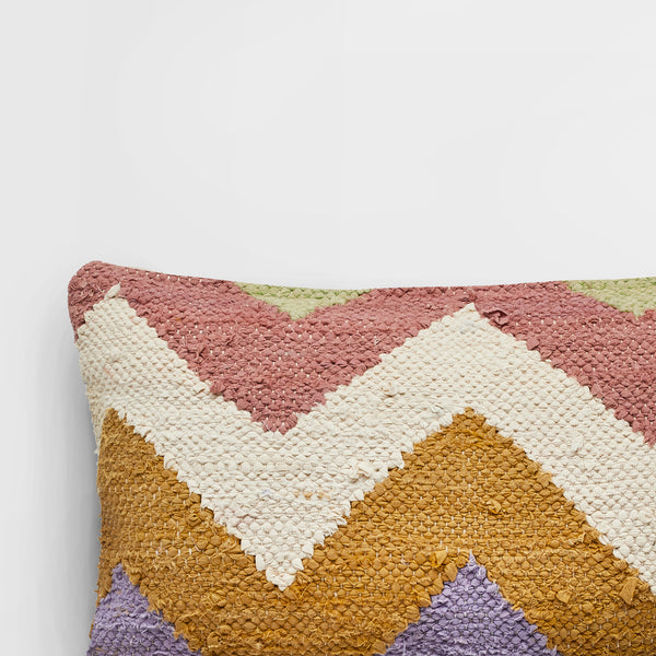 Handmade rectangle textured Cushion