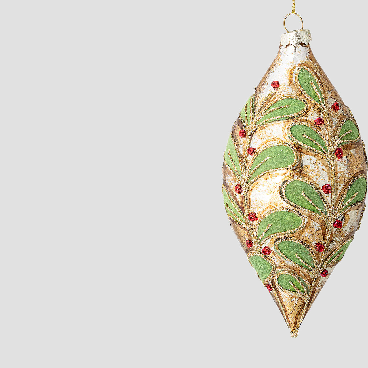 Glass decorative ornament