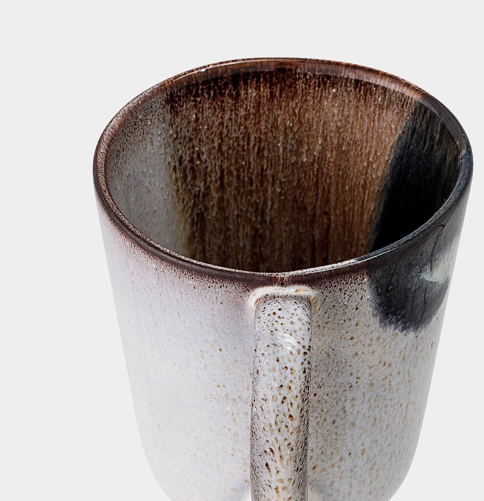 The Jules handmade natural glazed stoneware mug