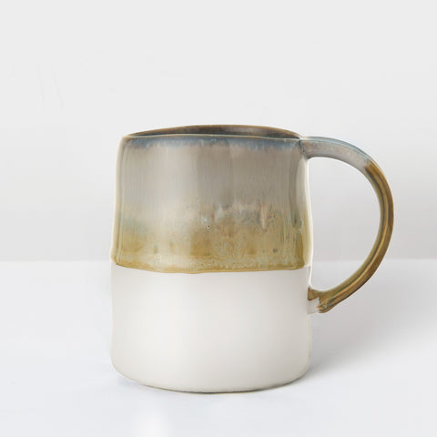 Handcrafted earth glazed mug
