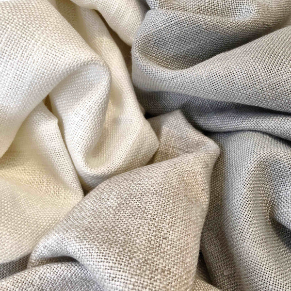 Curtain fabric sample - linen