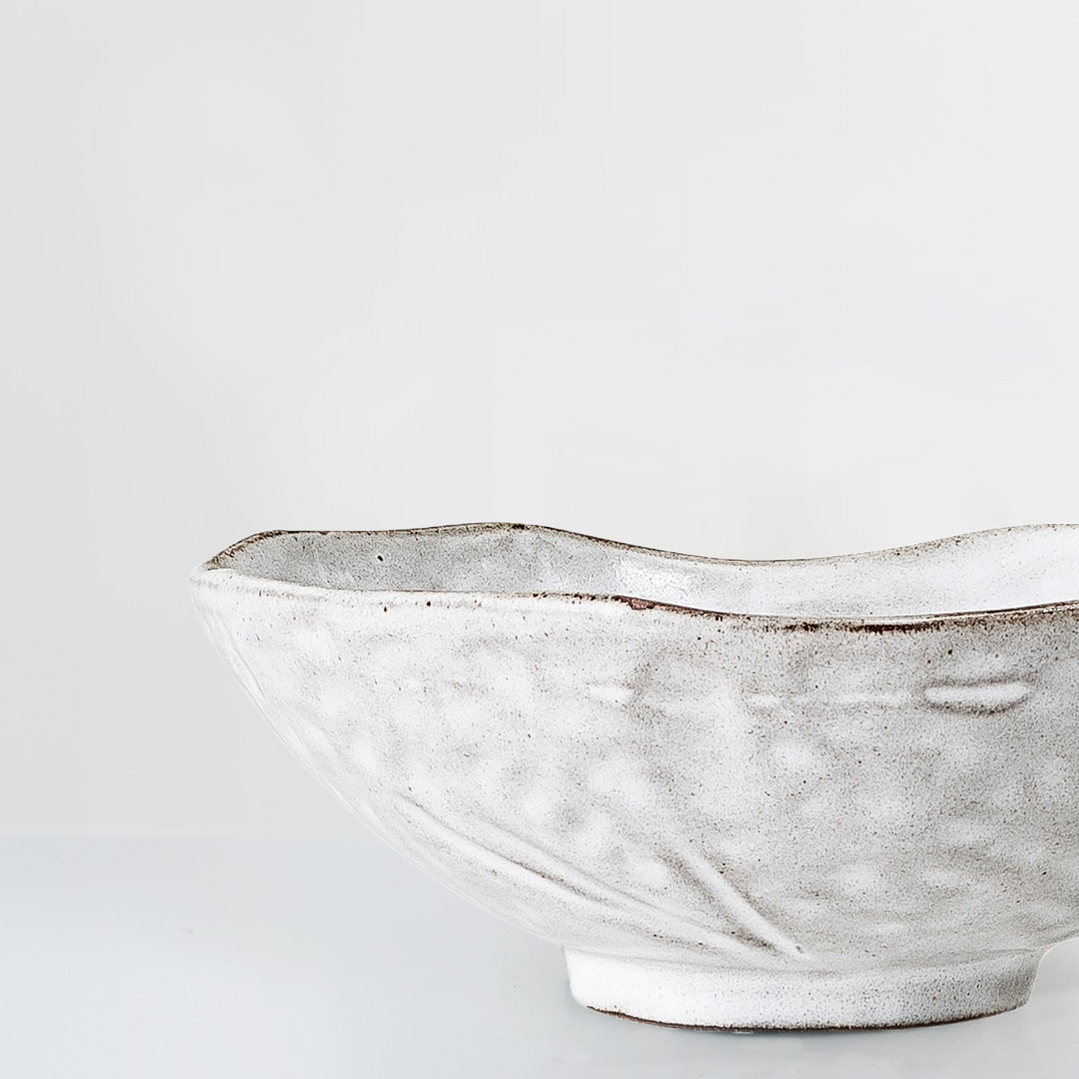 Cammelia Handmade pale grey bowl