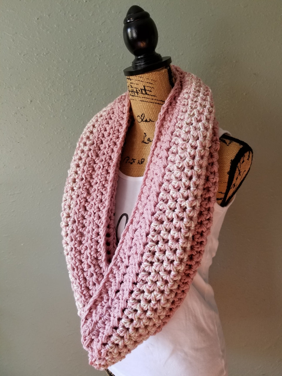 Rose Infinity Cowl