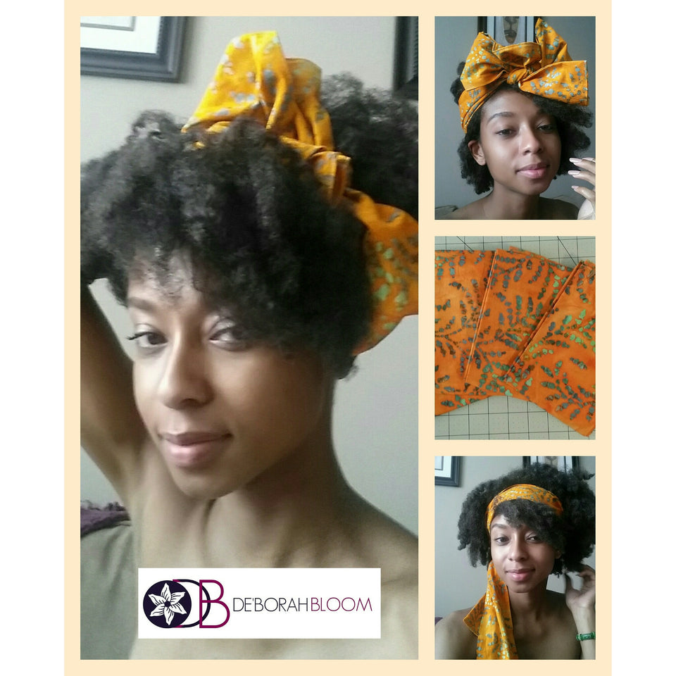 The fool proof headwrap - De'Borah Bloom