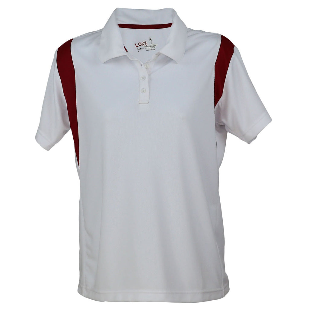Fairway for Women (White/Red)