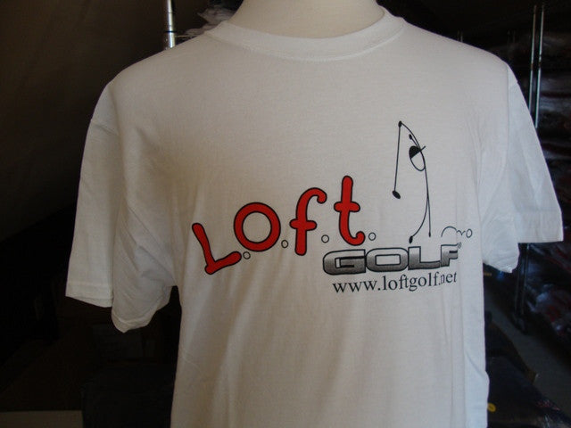 The Authentic L.O.F.T. GOLF Cotton Tee