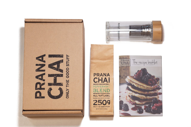 Prana Chai Peppermint Blend Cold Brew Kit