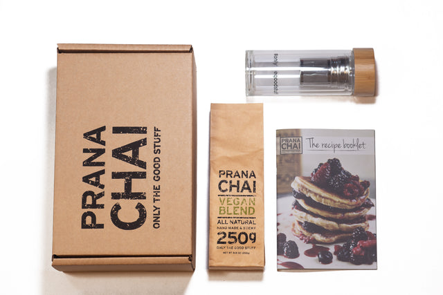 Prana Chai Vegan Agave Blend Cold Brew Kit