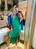 Kelly Green Maxi