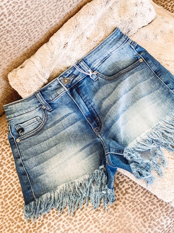 Amy Fringe Shorts