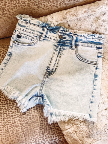 Ava High Waisted Shorts