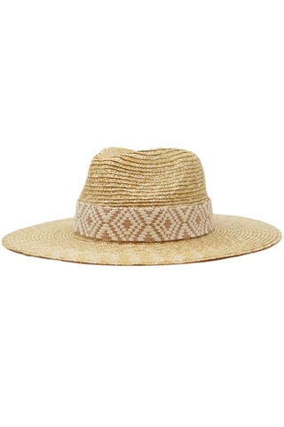 The Christina - Straw Hat with Band PREORDER