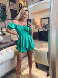 Alyssa Romper - Green
