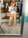 Peach Boardwalk Pants