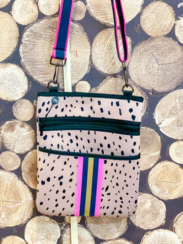 Animal & Pink Crossbody