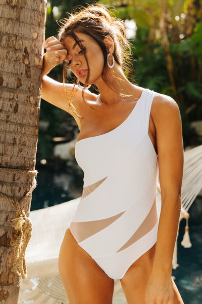 Ivory Sheer One Piece